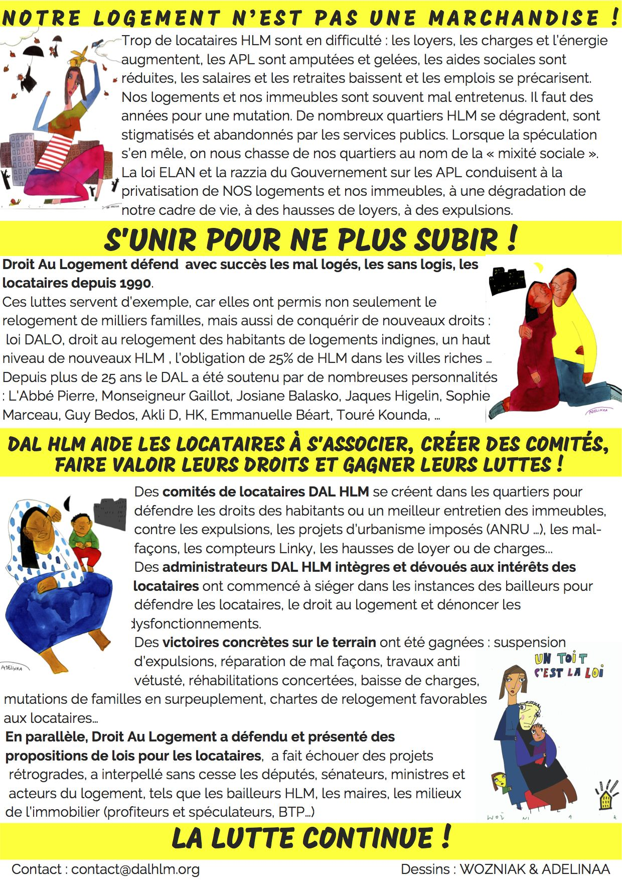 DAL HLM-tract verso elections-1